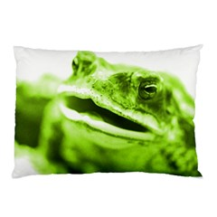Green Frog Pillow Cases