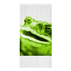 Green Frog Shower Curtain 36  x 72  (Stall)