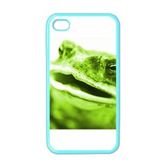 Green Frog Apple Iphone 4 Case (color)