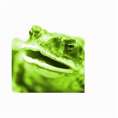 Green Frog Large Garden Flag (Two Sides)