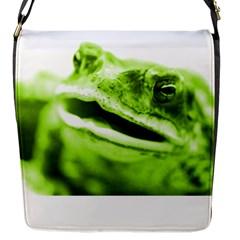 Green Frog Flap Messenger Bag (s)