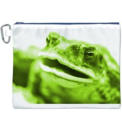 Green Frog Canvas Cosmetic Bag (XXXL)