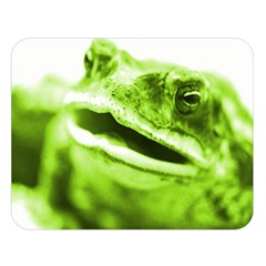 Green Frog Double Sided Flano Blanket (Large)