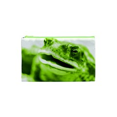 Green Frog Cosmetic Bag (xs)