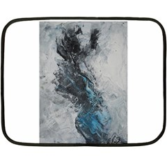 Ghostly Fog Fleece Blanket (Mini)