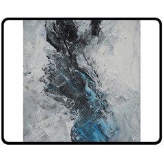 Ghostly Fog Fleece Blanket (medium)