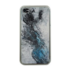 Ghostly Fog Apple Iphone 4 Case (clear)
