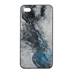 Ghostly Fog Apple iPhone 4/4s Seamless Case (Black)