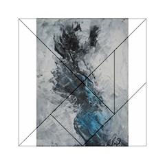 Ghostly Fog Acrylic Tangram Puzzle (6  x 6 )