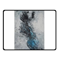 Ghostly Fog Double Sided Fleece Blanket (Small)