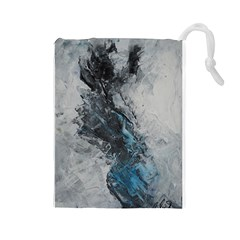 Ghostly Fog Drawstring Pouches (large)