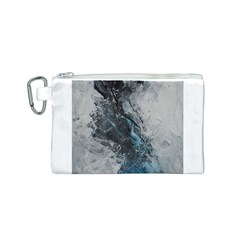 Ghostly Fog Canvas Cosmetic Bag (S)