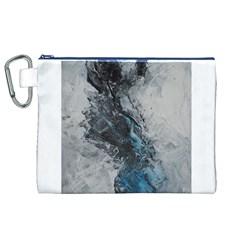 Ghostly Fog Canvas Cosmetic Bag (XL)
