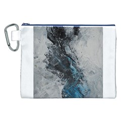 Ghostly Fog Canvas Cosmetic Bag (XXL)