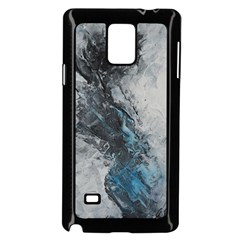 Ghostly Fog Samsung Galaxy Note 4 Case (Black)