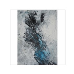 Ghostly Fog Small Satin Scarf (Square)