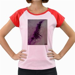 The Power Of Purple Women s Cap Sleeve T Shirt