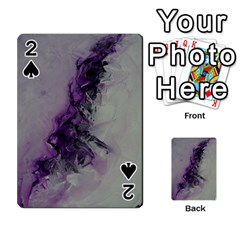 The Power Of Purple Playing Cards 54 Designs