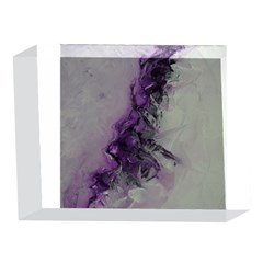 The Power Of Purple 5 x 7  Acrylic Photo Blocks