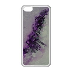 The Power Of Purple Apple Iphone 5c Seamless Case (white)