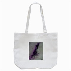 The Power Of Purple Tote Bag (white)