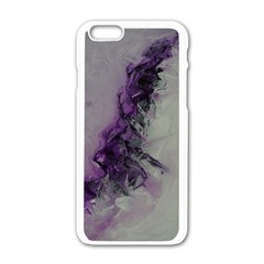 The Power Of Purple Apple iPhone 6 White Enamel Case