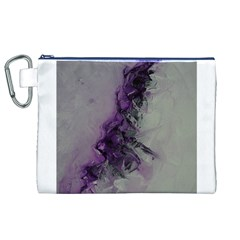 The Power Of Purple Canvas Cosmetic Bag (XL)