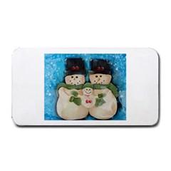 Snowman Family Medium Bar Mats