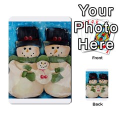 Snowman Family Multi Purpose Cards (rectangle)