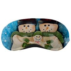 Snowman Family Sleeping Masks