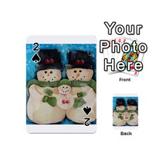 Snowman Family Playing Cards 54 (Mini)