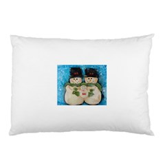 Snowman Family Pillow Cases (two Sides)