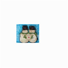Snowman Family Large Garden Flag (two Sides)