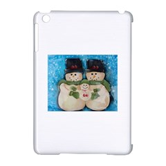 Snowman Family Apple Ipad Mini Hardshell Case (compatible With Smart Cover)