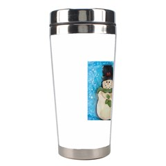 Snowman Family Stainless Steel Travel Tumblers
