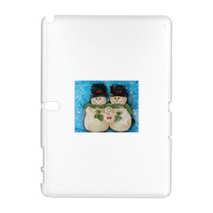 Snowman Family Samsung Galaxy Note 10.1 (P600) Hardshell Case