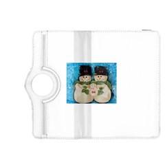Snowman Family Kindle Fire HDX 8.9  Flip 360 Case