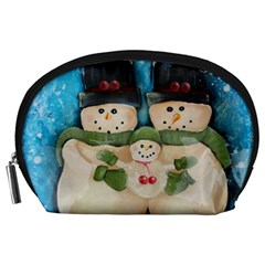 Snowman Family Accessory Pouches (large)