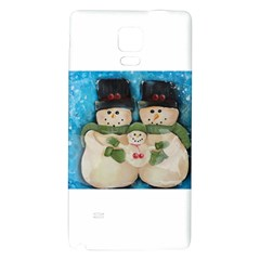 Snowman Family Galaxy Note 4 Back Case