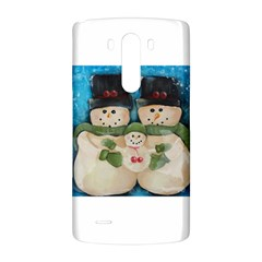 Snowman Family LG G3 Back Case