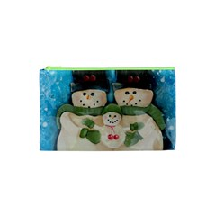 Snowman Family Cosmetic Bag (XS)