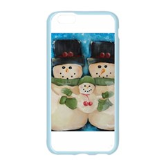 Snowman Family Apple Seamless iPhone 6 Case (Color)