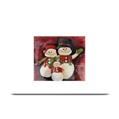 Snowman Family No  2 Plate Mats