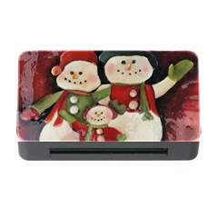 Snowman Family No. 2 Memory Card Reader with CF