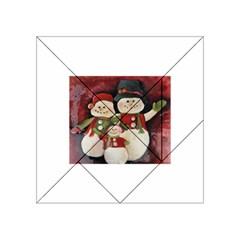 Snowman Family No  2 Acrylic Tangram Puzzle (4  X 4 )