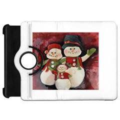Snowman Family No  2 Kindle Fire Hd Flip 360 Case