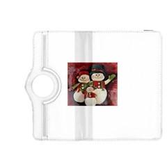 Snowman Family No  2 Kindle Fire Hdx 8 9  Flip 360 Case