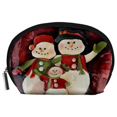 Snowman Family No. 2 Accessory Pouches (Large)