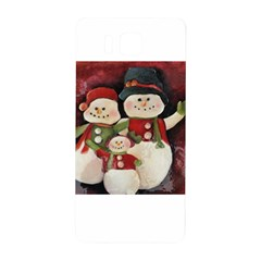 Snowman Family No. 2 Samsung Galaxy Alpha Hardshell Back Case