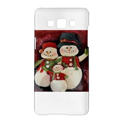 Snowman Family No. 2 Samsung Galaxy A5 Hardshell Case